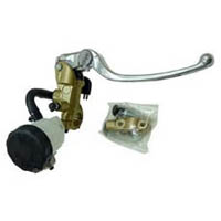 Master Cylinder Kit Color Gold and Silver Side Brake Size 19mm Piston Type Radial | ID 17 | 656G