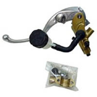 Master Cylinder Kit Color Gold and Silver Side Clutch Size 19mm Piston Type Radial | ID 17 | 666G