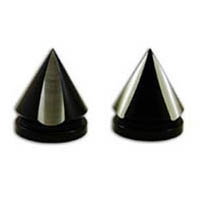 Fork caps Color Black Style Spiked | ID A3707AB