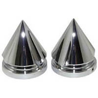 Fork caps Color Chrome Style Spiked | ID CA3707