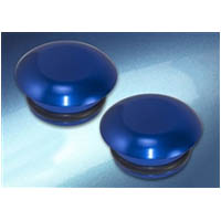 Frame Slider puck cap Universal Fitting Color Blue Material Billet | ID FSC | BLU