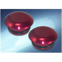 Frame Slider puck cap Universal Fitting Color Red Material Billet | ID FSC | RED