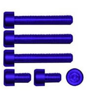 Gas cap screw kit Color Blue | ID GTBK101BU