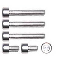 Gas cap screw kit Color Chrome | ID GTBK101CH