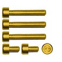 Gas cap screw kit Color Gold | ID GTBK101G