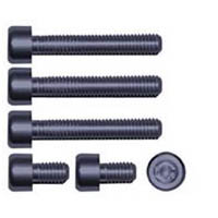 Gas cap screw kit Color Gunmetal | ID GTBK101GM