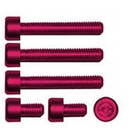 Gas cap screw kit Color Red | ID GTBK101R