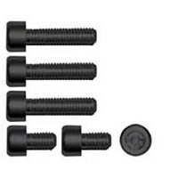 Gas cap screw kit Color Black | ID GTBK201BL