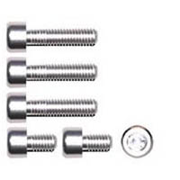Gas cap screw kit Color Chrome | ID GTBK201CH