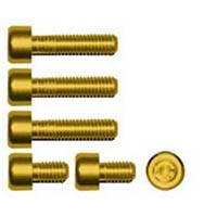 Gas cap screw kit Color Gold | ID GTBK201G