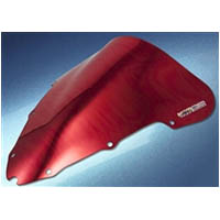 Windscreen Color Red Style Chrome Honda CBR600F F4i 2001 2006 | ID HW | 1000CRE