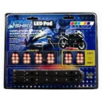 Lighting pod kit Color Red Style Sport bike | ID LK | 2186