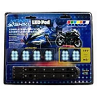 Lighting pod kit Color Blue Style Sport bike | ID LK | 2187