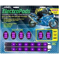 Lighting pod kit Color Purple Style Sport bike | ID LK | 2188