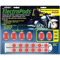 Electro pod Color Red Style Chrome | ID LK | 2433