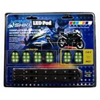 Lighting pod kit Color Green Style Sport bike | ID LK | 2465