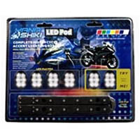 Lighting pod kit Color White Style Sport bike | ID LK | 2516