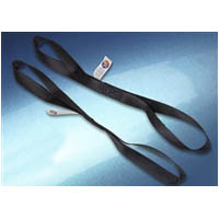 Tie down straps Series 2 pack Size 1x18 inch Strength Loads up to 500lbs break strength 1 500lbs Style SOFT CLOSED TIE | ID STR | 101