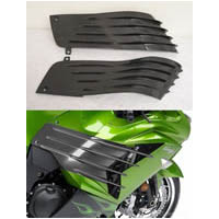 ZX14 2006 2015 Carbon Fiber Side Panels Fins | ID 1524