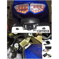 ZX14 SPORTBIKE REAR VIEW CAMERA KIT | ID 2403