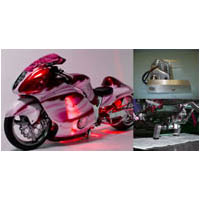 HAYABUSA SPORTBIKE REAR AIR RIDE LANDING GEAR OPTION | ID 2226