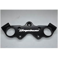 99 2015 Hayabusa Engraved Black Anodized Lowering Top Triple Clamp | ID 42