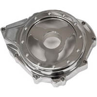 Hayabusa Billet Clear See Through Stator Cover | ID 2023