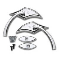 Chrome Scimitar Eagle Beak Mirror Package Kawasaki ZX14 | ID 2099