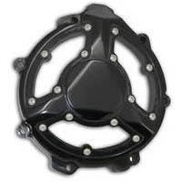 ZX14 ANODIZED BLACK CLEAR STATOR COVER | ID 700