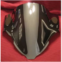 Hayabusa Chrome Red Chrome Blue Chrome Windscreen | ID 2040