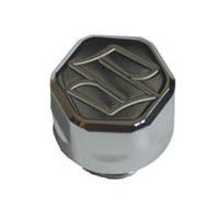 Hayabusa BLACK or CHROME OIL CAP ENGRAVED Several Models Available | ID 876