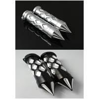 KAWASAKI ZX Diamond Style Straight Grips | ID 1990