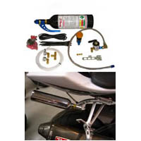 GSXR Nitrous EFI System Single Bottle | ID 1125