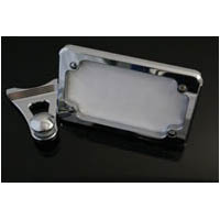 ZX14 Chrome Rear Foot Peg Tag Bracket | ID 1502